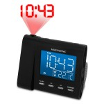 Magnasonic Projection Alarm Clock