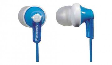 Panasonic RPHJE120A In-Ear Headphone in Blue